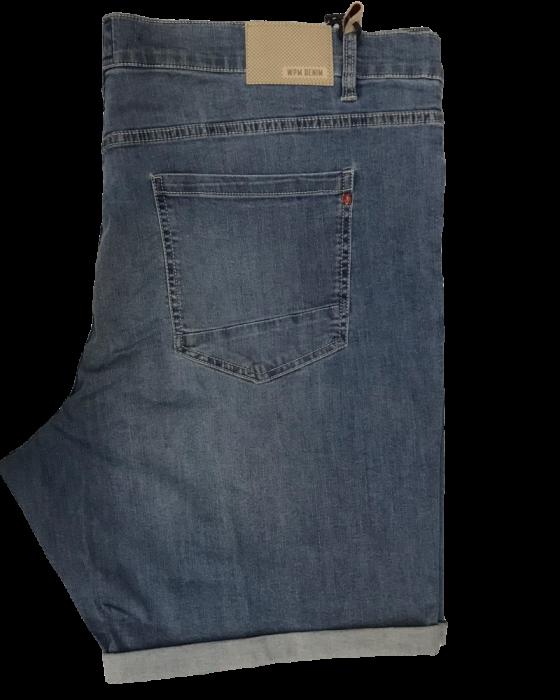 Bermuda jeans scoloriti