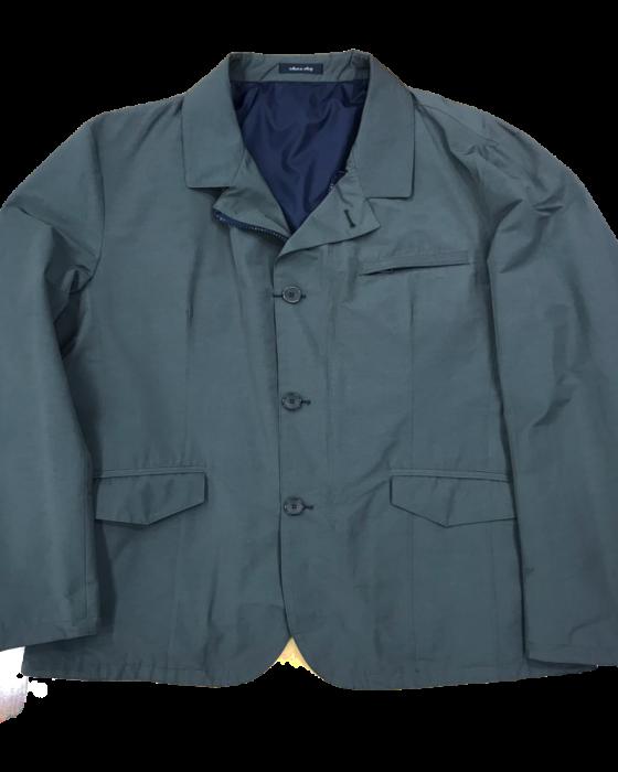 giacca tecnica verde